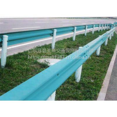 石首公路护栏板的一般用量规格Q235防撞栏