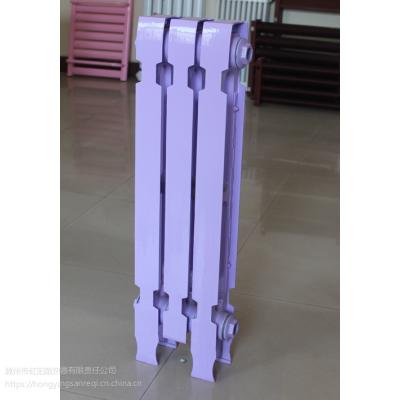 老式铸铁暖气片生产厂家定制 销售 柱翼橄榄745型散热器 集中供暖