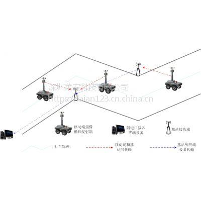 莱安隧道检查移动监控无线视频传输方案