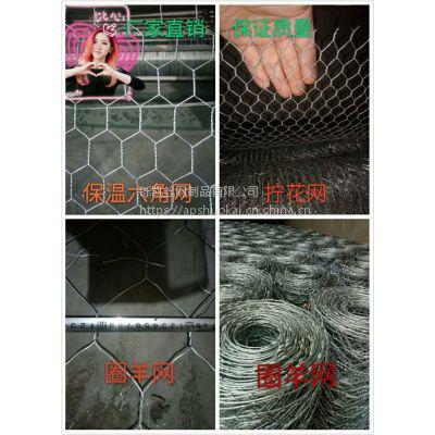 批发零售PVC浸塑六角网,养殖拧花铁丝网