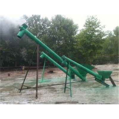 大米水稻颗粒提升机 信誉好钢管上料机 面粉粉料提升机定制