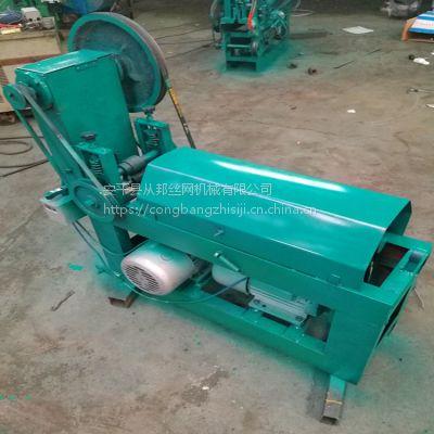 安平从邦机械 供应钢丝调直机 小型全自动调直断丝机