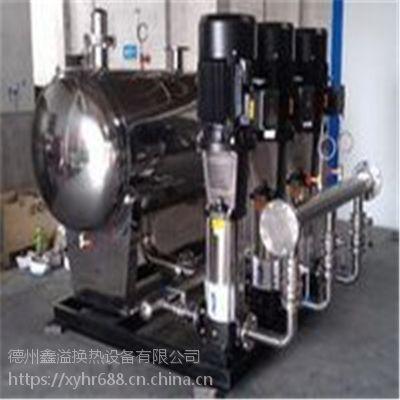 鑫溢 全自动变频箱式无负压给水装备 变频恒压成套设备系统 特点