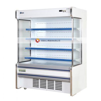 河南平顶山超市冷藏展示柜定做,洛阳安阳超市冰箱饮料柜厂家直销