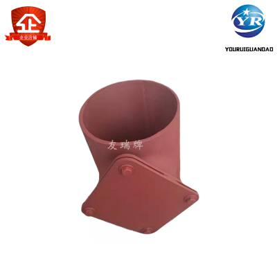 雨水落水管检查口,定制各种检查口 DN100碳钢焊接检查口