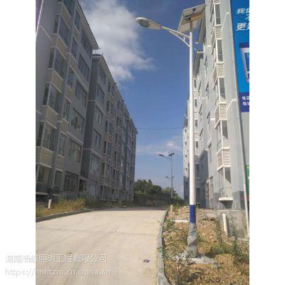 湘潭韶山6米太阳能路灯 厂家供应现货 安装简便费用低