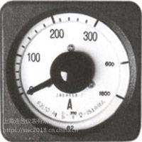 上海自一船用仪表厂63L10-A广角度交流电流表