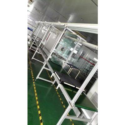 升降爬坡输送机,斜坡传送带,卸货输送带,物流快递专用分拣接驳线