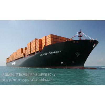 天津到美国HOUSTON 40HQ高箱运输