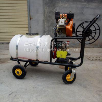 启航自走式汽油高压喷雾器 果园风送打药机 高压喷雾器图片