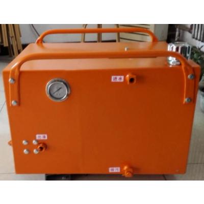 钻井气动乳化液泵站ZBQ7.5/25 注液泵 立式液压泵站 气动注液泵