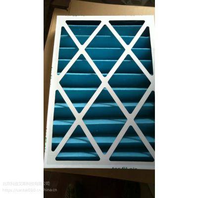 供应无尘净化空调通风系统初效白色纸框过滤器定制