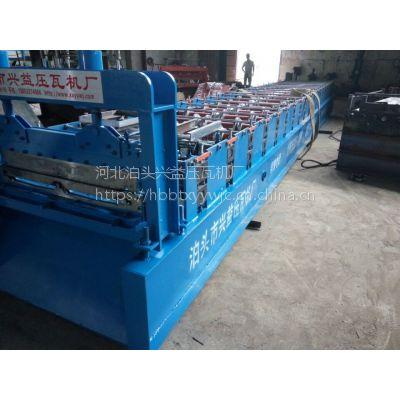河北沧州兴益供应820角驰机全自动压瓦机彩钢瓦设备