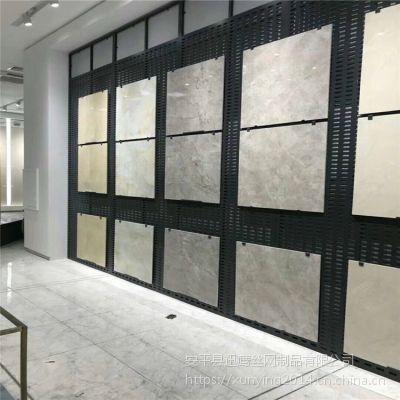 郴州瓷砖展示架厂家@娄底市冲孔板货架@益阳挂瓷砖展架