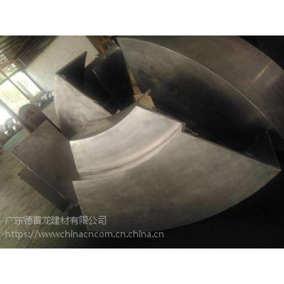 圆形有缝包柱铝单板 装饰造型外墙氟碳铝单板