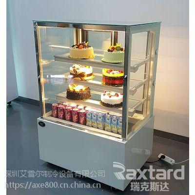 蛋糕柜冷藏柜展示柜直角 深圳蛋糕柜厂家 日式直角三层保鲜水果保鲜柜