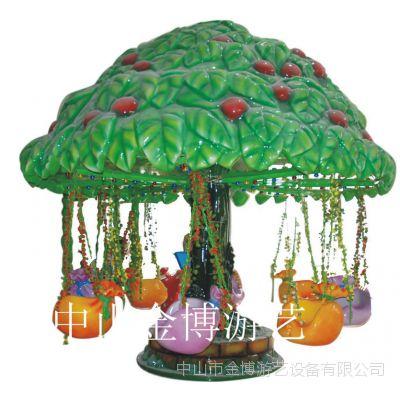 中山金博大型游乐设备 儿童西瓜飞椅游乐设施厂家直供