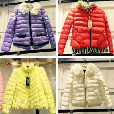 特价促销 新款女装韩版冬季 羊羔毛短款棉女式羽绒服 批发