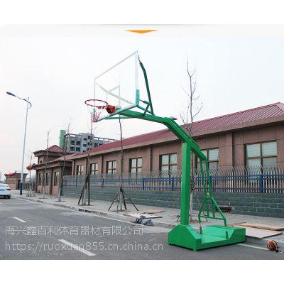 低价促销生产批发移动凹箱国标篮球架 体育器材用品