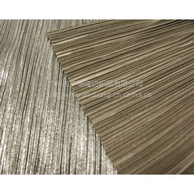 压褶布涤纶化纤面料广德隆纺织服装面料幅宽145cm100%涤纶