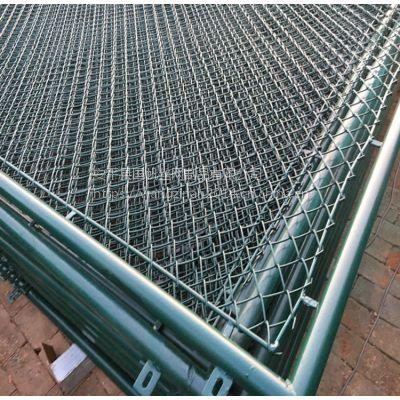 吕梁篮球场护栏生产厂家 运动场围栏网 篮球场护栏网安装方法