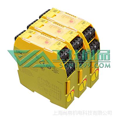 尚帛供应PILZ皮尔磁750135_PNOZ s5 48-240VACDC 2 n/o安全继电器