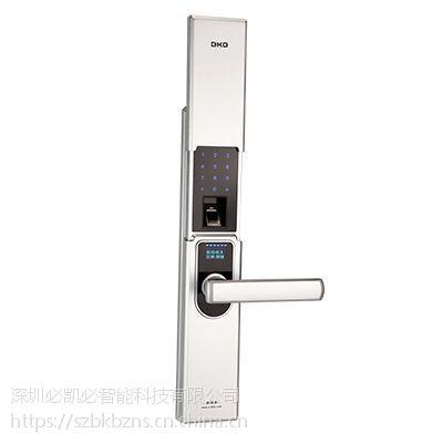 K-1800指纹密码锁(烤漆银) -智能锁供应-深圳必凯必