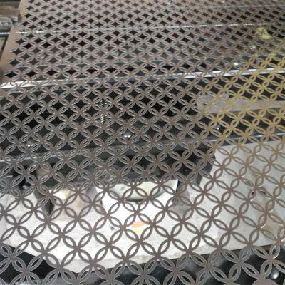 铜钱孔冲孔网板加工定制304不锈钢镀锌铁铝洞洞板塑料冲孔网供应商筛网过滤网1