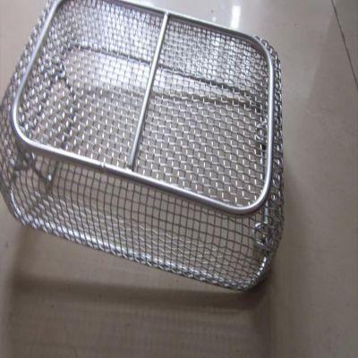 不锈钢网筐 304编织网篮厂家