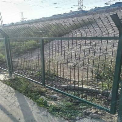 河道围栏网@水库防护铁丝网@双边丝护栏网厂家现货