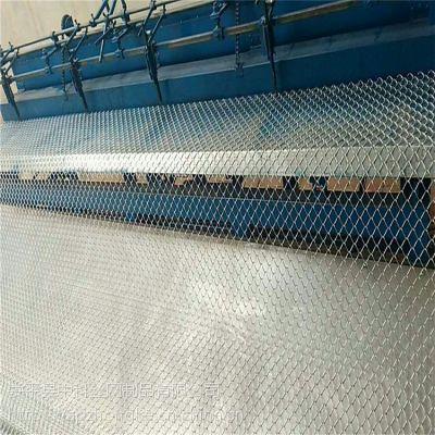 优质Q235铁丝勾花网 安装简单勾花网 镀锌斜方网