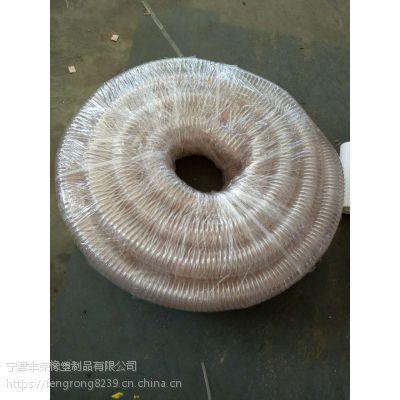 山东丰荣橡塑制品有限公司 现货充足 耐热pu钢丝软管 质量有保障 欢迎洽谈