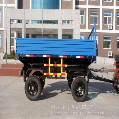 达丰机械专业生产农用拖车 农用运输车 四轮拖拉机自卸拖斗 平板拖车 支持来图定制