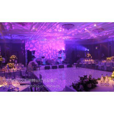 婚礼星空地板灯 60x60x3cm 白板白灯星空地砖灯