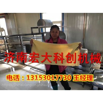 衡水做豆腐皮的机子价格,成套豆腐皮加工机报价