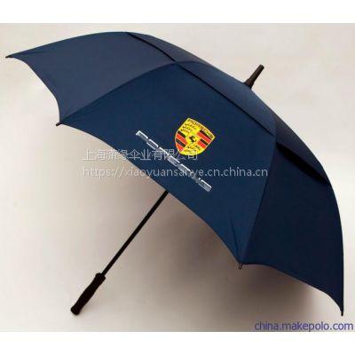 供应汽车公司礼品伞制作 高档纤维骨架高尔夫伞 广告礼品伞生产定做厂