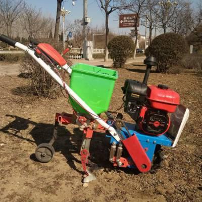 促销农用施肥机 汽油版小型除草机 微型播种犁地机厂家直销