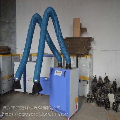旱烟废气处理净化器3000风量单臂旱烟净化器设备