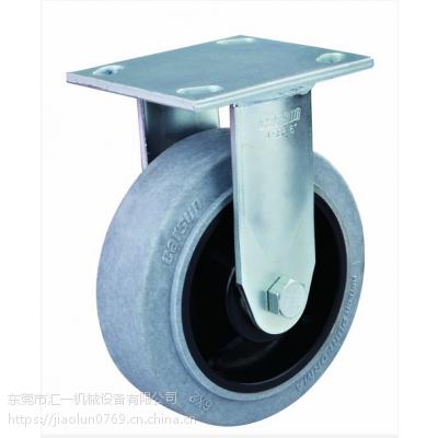防静电脚轮规格型号 重型6寸导电轮工业人造胶防静电脚轮