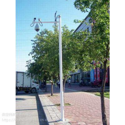 供应监控杆 140 4.5厚 3台抢机杆