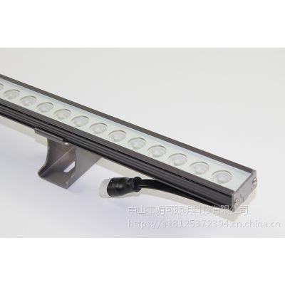 浙江楼体户外亮化照明生产厂家明可诺led线条灯硬灯条