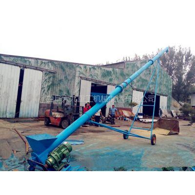 泰州耐高温螺旋上料机 六九粉末料螺杆式自动喂料机