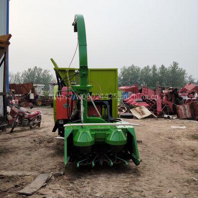 2018履带自走式青储机 玉米秸秆青贮收割机 养殖业专用机械