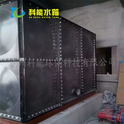 科能直供昆明搪瓷钢板水箱 搪瓷油箱质量保障