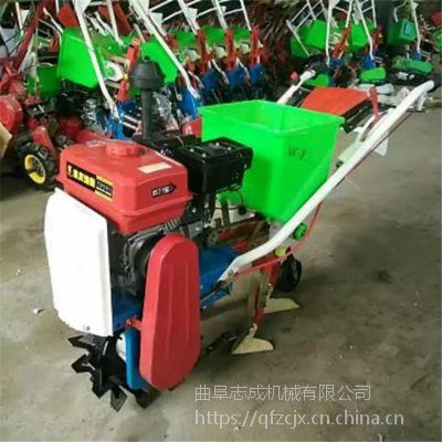 汽油独轮耘播机 花园苗圃松土机 农用小麦播种机厂家直销