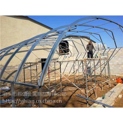 几字钢温室大棚打动万千菜农 几字钢温室大棚厂家