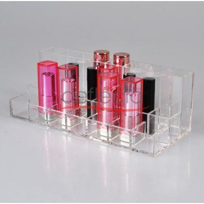 化妆品展示架 亚克力化妆展架定制 有机玻璃定做