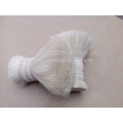 巨龙畜产品供应动物毛鬃山羊毛,油漆刷用双齐山羊毛,羊毛