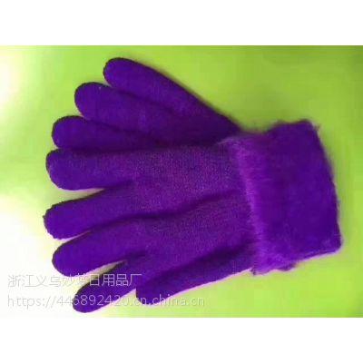 东北羊绒手套厂家批发 5元模式鄂尔多斯羊绒手套批发
