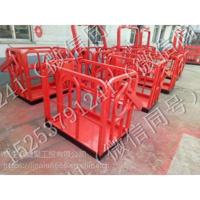 天津吊车专用吊篮 吊车顶框